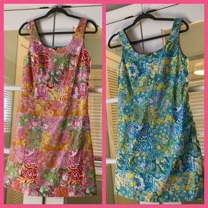 Lilly Pulitzer Reversible Sleeveless Dress - Med
